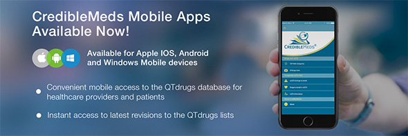 CredibleMeds :: CredibleMeds Launches Mobile App to Expand Access to